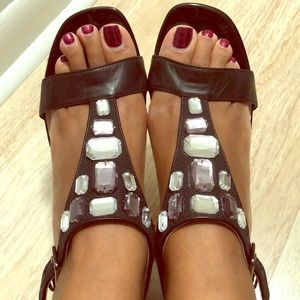 Casual bling sandals